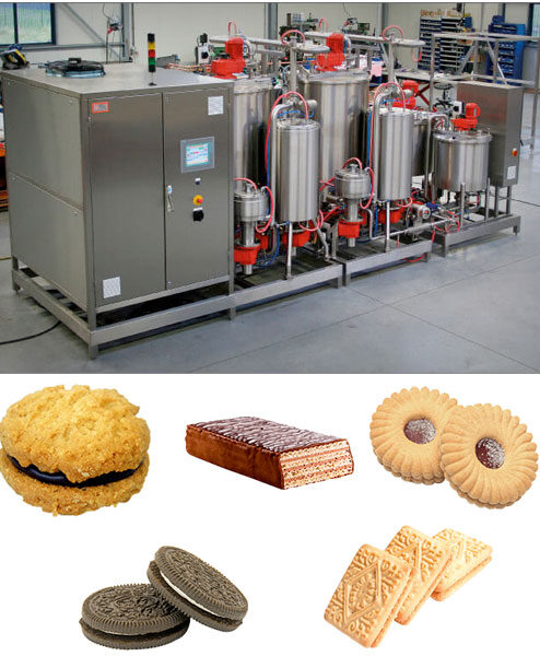 Complete Lines for Production of Cream for Sandwiched Biscuits - MSL Teknoloji