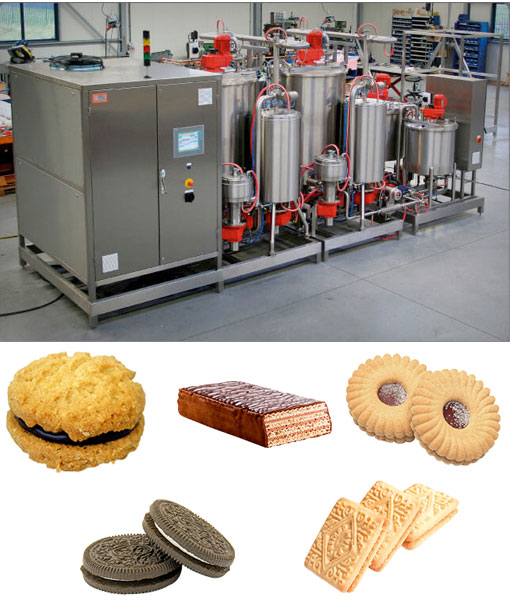 Sandviç Bisküvi Krema Hazırlama - MSL Teknoloji